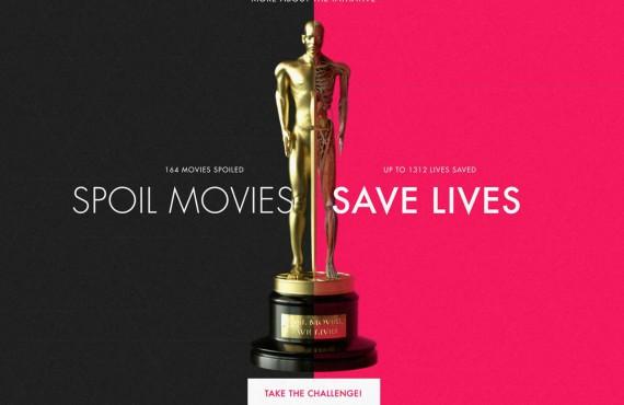 Spoil Movies Save Lives: la campagna digitale per la donazione degli organi