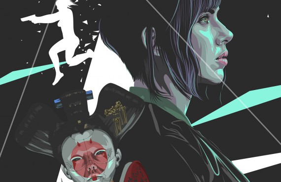 Ghost in the Shell: il tributo degli artisti al film con Scarlett Johansson
