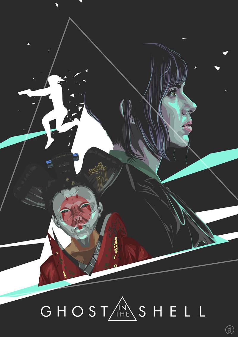 Ghost in the Shell: il tributo degli artisti al film con Scarlett Johansson