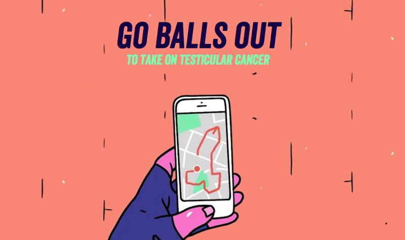 Con #GoBallsOut previeni il tumore ai testicoli disegnando peni su Google Map
