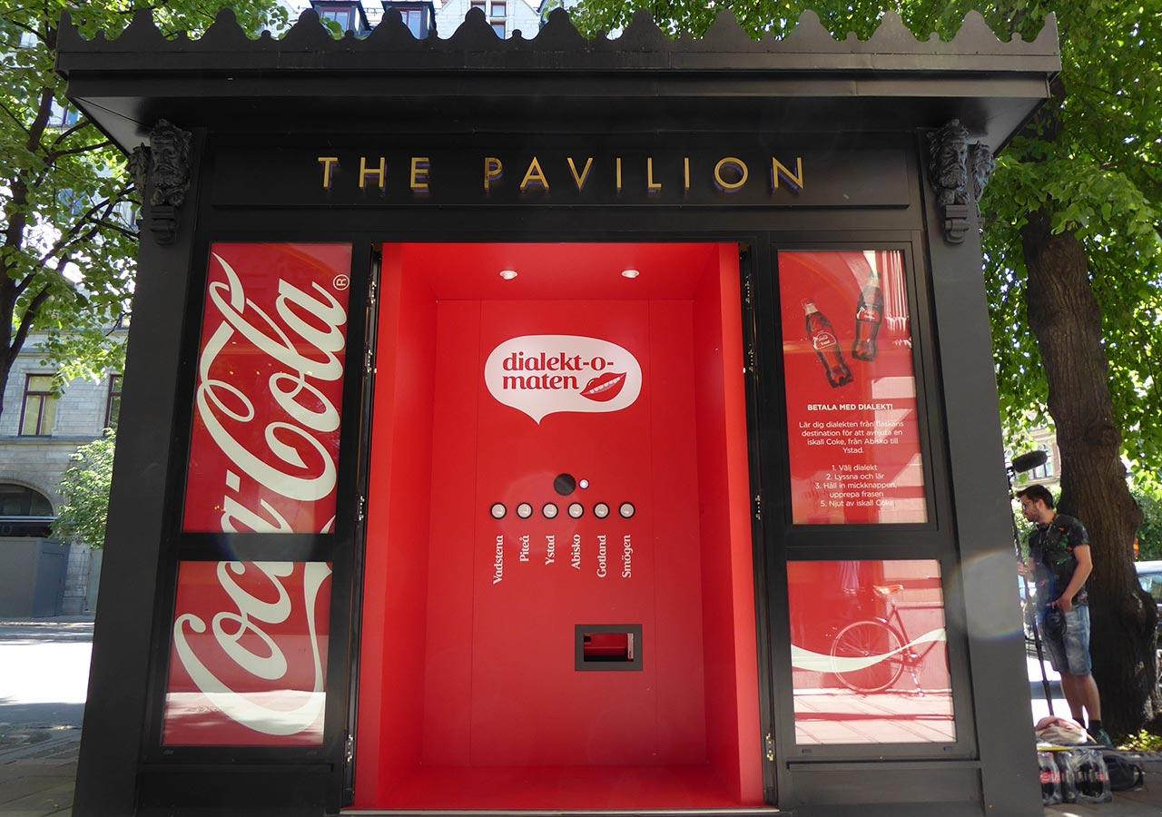 Coca Cola: in Svezia il distributore automatico in cui paghi con il dialetto