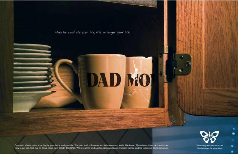 Violenza sulle donne: 15 campagne pubblicitarie d'effetto