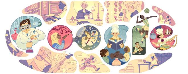 Festa della donna: dal 2011 a oggi, i doodle di Google per celebrare l'8 marzo