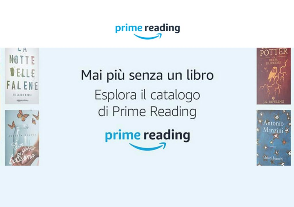 Amazon Prime Reading: leggi libri gratis con account Amazon Prime