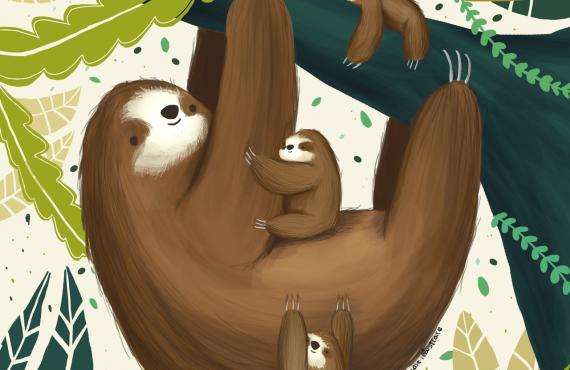 Intervista a Cose Illustrate: un soffice mondo fatto di bradipi a colazione