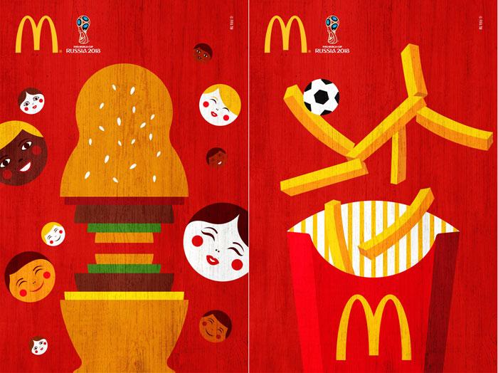 McDonald's: dai Mondiali di Calcio ai Cannes Lions il 2018 è epic win
