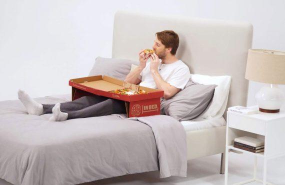 Il packaging della pizza progettato per mangiare la pizza a…