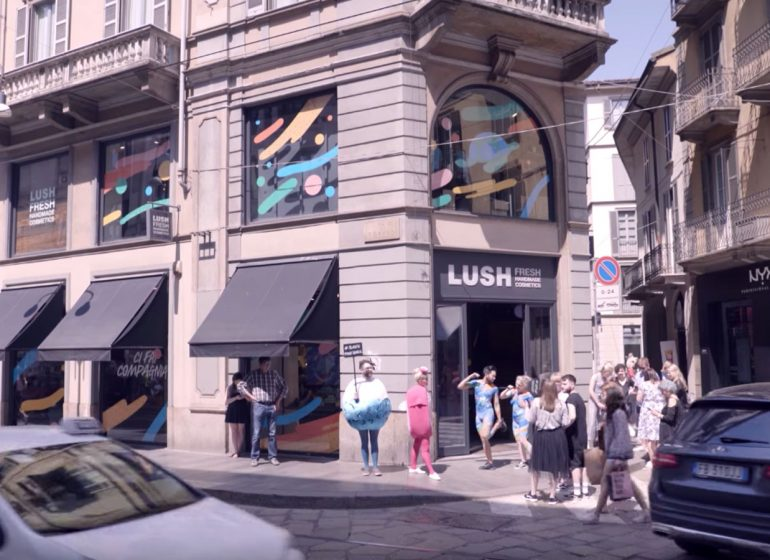 Lush dice addio al packaging e apre il primo Naked Store a Milano