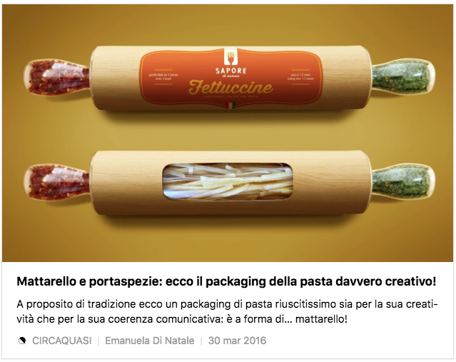 World Pasta Day: 10 packaging creativi per celebrarla
